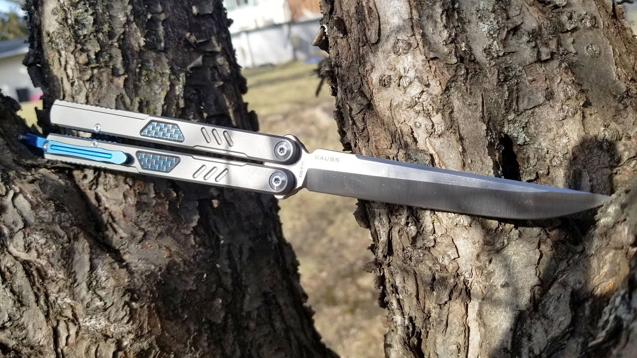 Maxace Gauss Balisong Unboxing & First Impressions Review