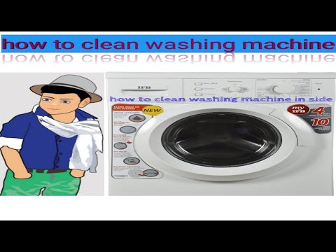 HOW TO 'IFB' WASHING MACHINE  CLEANING