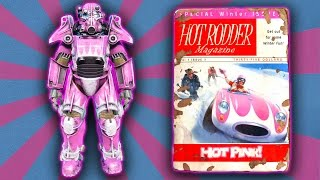 Fallout 4 - Hot Rodder Hot Pink Power Armor Paint Guide