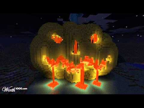 Minecraft top 10 Buildings Halloween Special - YouTube