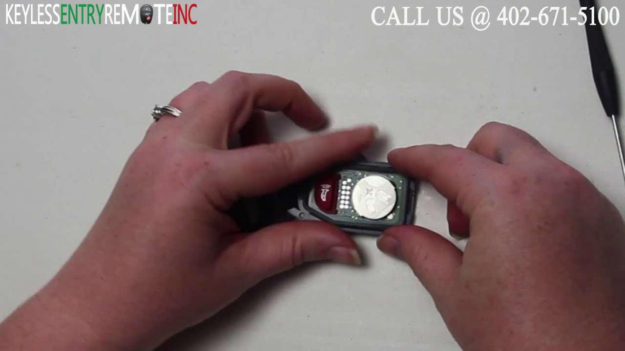 How To Replace Hyundai Accent Key Fob Battery 2011 2012
