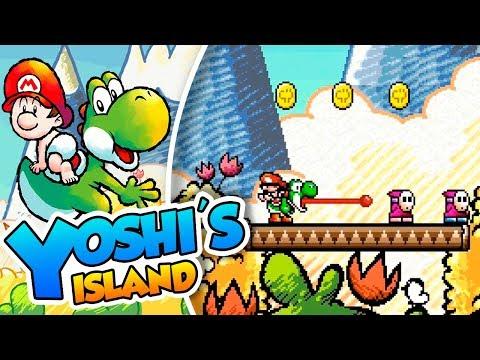 ¡El cuento de Yoshi y Baby Mario! - #01 - Yoshi's Island (SNES mini) DSimphony