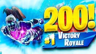 Video de MI VICTORIA 200 en FORTNITE - TheGrefg