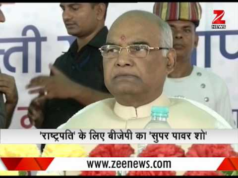 Know about Narendra Modi's 'Power Show' for Ram Nath Kovind's nomination