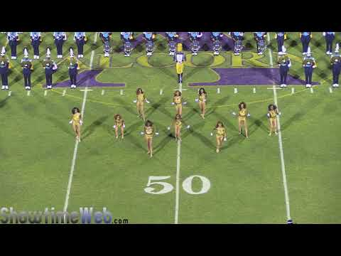 SU Halftime Show - Southern University Human Jukebox Marching Band Halftime - 2017 vs Alcorn State