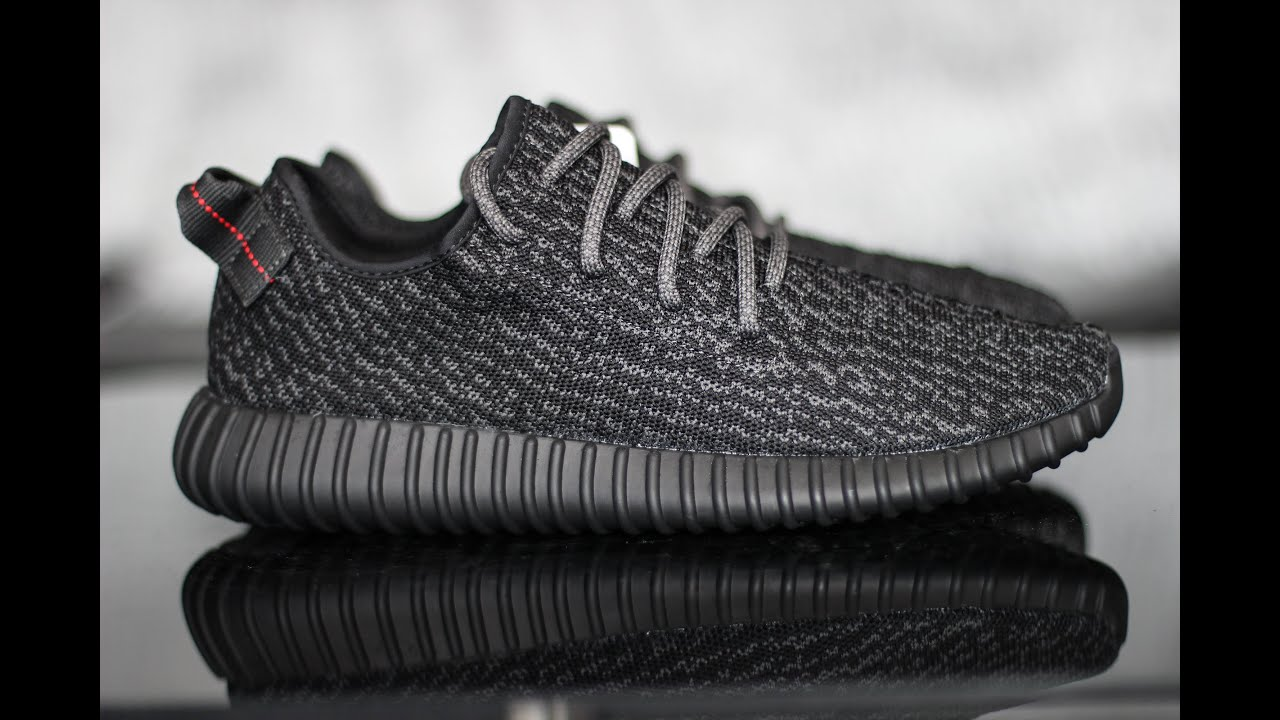 f75c1cb74a22 Adidas x Yeezy Boost 350 Pirate Black Review - YouTube