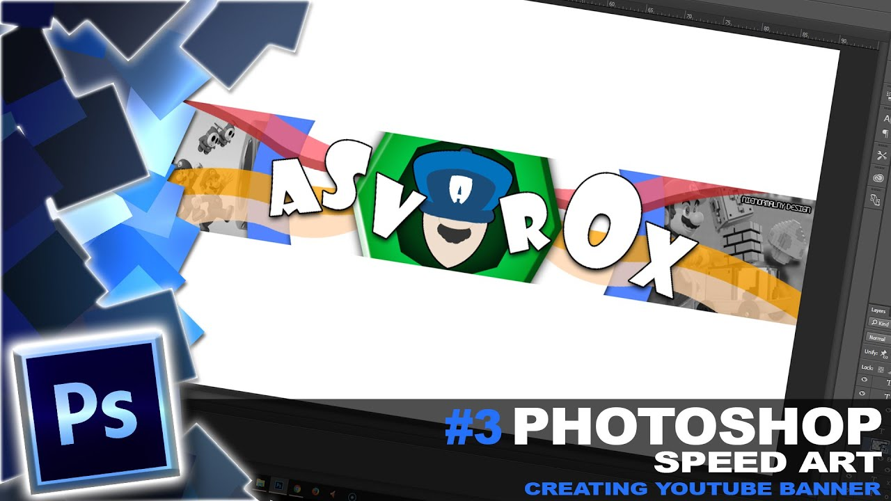 Download SpeedArt - Youtube Banner for Asvarox #nintendo