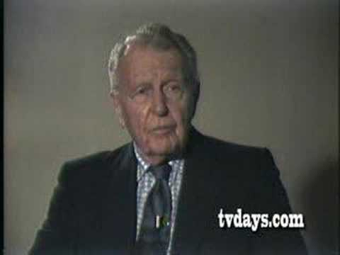 "RALPH BELLAMY ""STOCK COMPANY""  with JOHN GALLAGHER  PART 1"