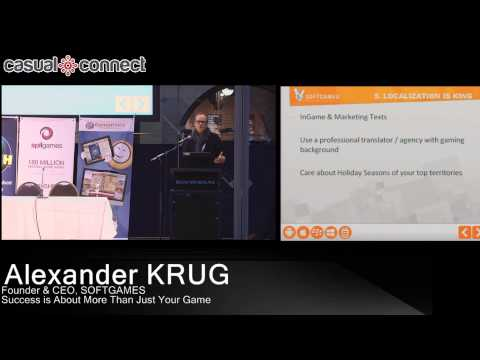 Success is About More Than Just Your Game | Alexander KRUG