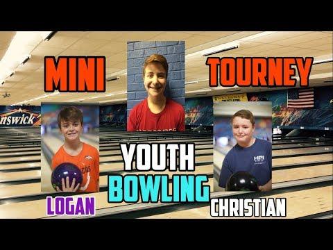 Youth Bowling Match Play   Logan Fossum v. Christian v. Brandon