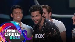 Shadowhunters: The Mortal Instruments Wins The Choice Sci-Fi/Fantasy TV Show | TEEN CHOICE