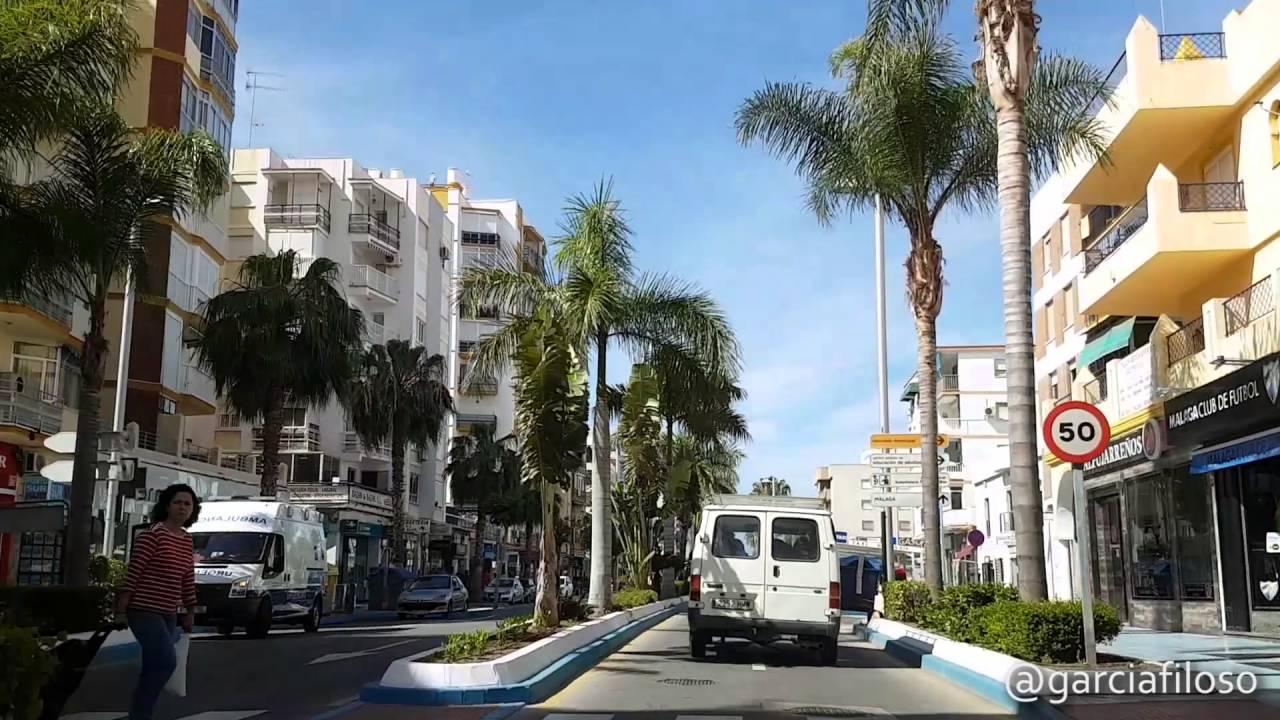 Avenida andaluc a de torre del mar m laga youtube for Cerrajero torre del mar