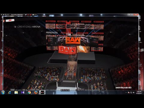 WWE 2K17 HOW TO INSTALL ARENA MODS