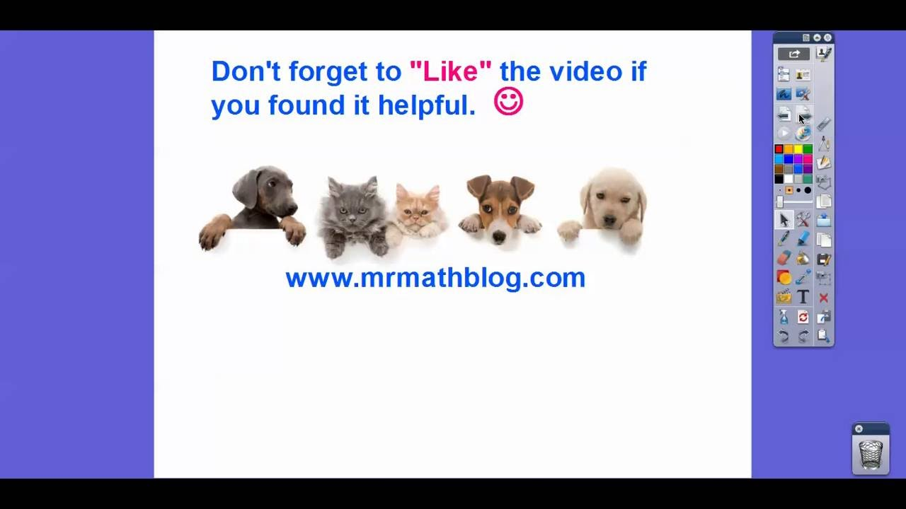 Applying Gcf And Lcm To Fraction Operations Lesson 41