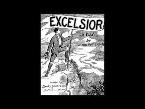 Joseph Lamb - Excelsior Rag (1909) [HQ]