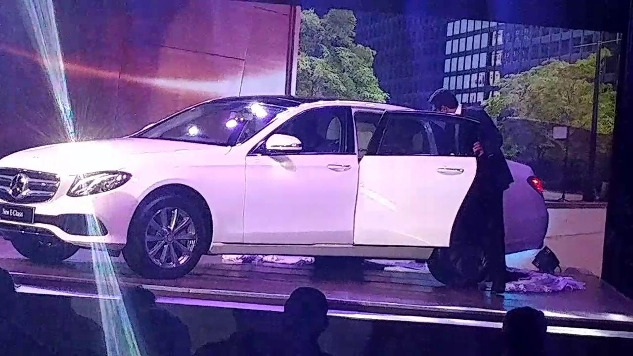 Car interior kochi - E Class Launch In Kochi
