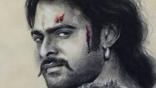 Drawing Baahubali 2 | Prabhas | Portrait drawing 02