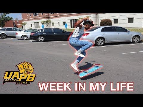 WEEK IN MY LIFE - University of Arkansas at Pine Bluff