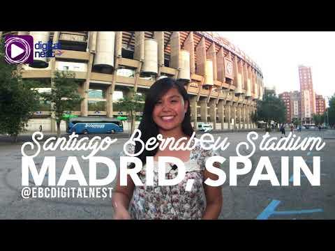 Greetings from Santiago Bernabéu Stadium!
