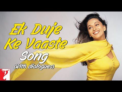 Ek Duje Ke Vaaste Song (with Dailogues) | Dil To Pagal Hai | Shah Rukh Khan | Madhuri Dixit