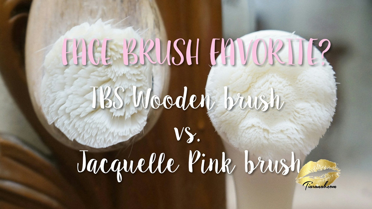 Facial Brush Test Tbs Vs Jacquelle After Make Up Cleansing