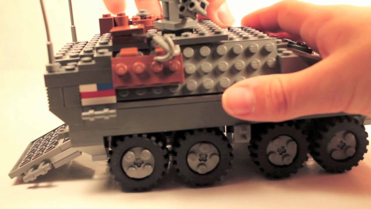 Military Vehicles For Sale Canada >> Lego MIlitary LAV Stryker - YouTube