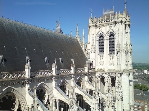 Places to see in ( Amiens - France ) Cathedrale Notre Dame d'Amiens