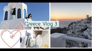 Santorini, Mykonos Vlog   Greece travel vlogs