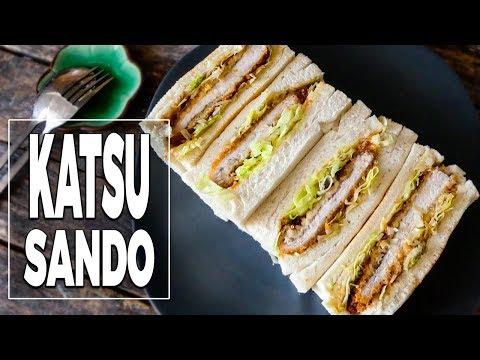Katsu Sando (sandwich) - Recette Japonaise - Le Riz Jaune