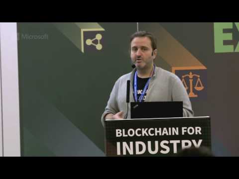 Microsoft's vision on blockchain technologies powered by Azure