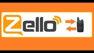 Zello + рация