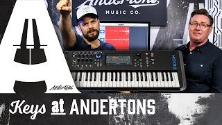 Yamaha MODX - First Look! - Andertons Music Co.
