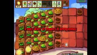 Plant vs Zombies Level 5-2