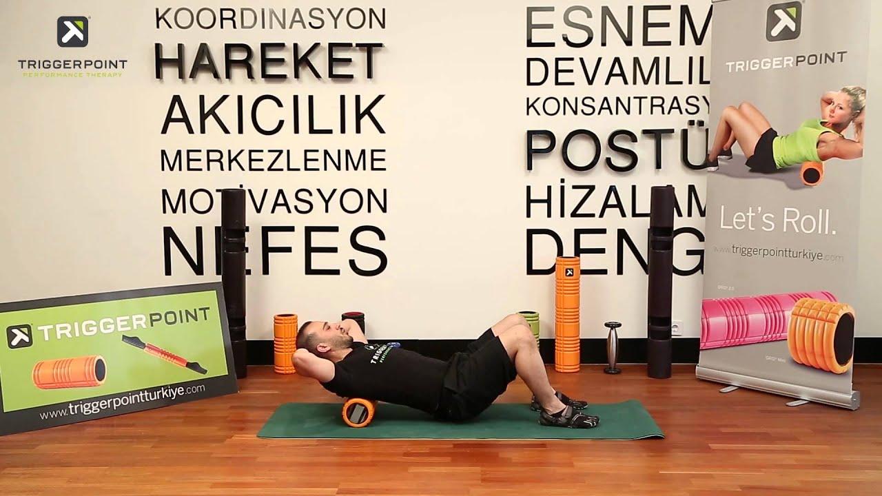 Thoracic Spine Doku Elastikiyeti Egzersizleri (Myofascial Release Foam  Rolling)