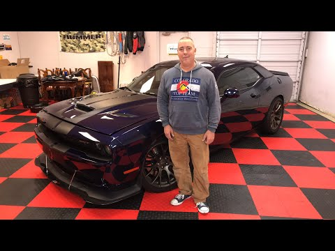 1,000 Horsepower Dodge Challenger Hellcat: Dude, I Love My Ride!
