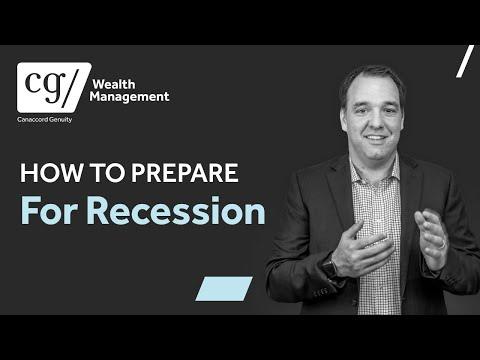 Stock Market Crash   How to Prepare for Recession