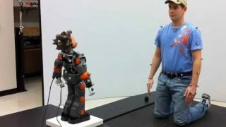 Hanson RoboKind Zeno R-30 Kinect Demo