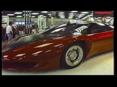 Fort Worth Auto Show 1992 featuring the Pontiac Banshee Concept Car