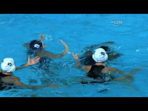 Water Polo girl fight, from Universal Sports