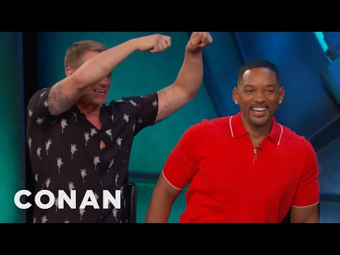 """Will Smith's Sensual Hot Water Treatment For His """"Suicide Squad"""" Castmates  - CONAN on TBS"""