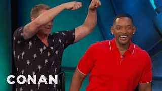 "Will Smith's Sensual Hot Water Treatment For His ""Suicide Squad"" Castmates  - CONAN on TBS"
