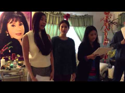 """Luong The Thanh,Thuy Diem,Kha Ly, Thanh Duy,Kieu Oanh / Tap tuong """" So Dao Hoa 2"""""""