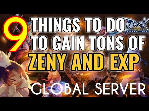 9 Things To Do In Global Server To Get Lots Of Zeny And Exp