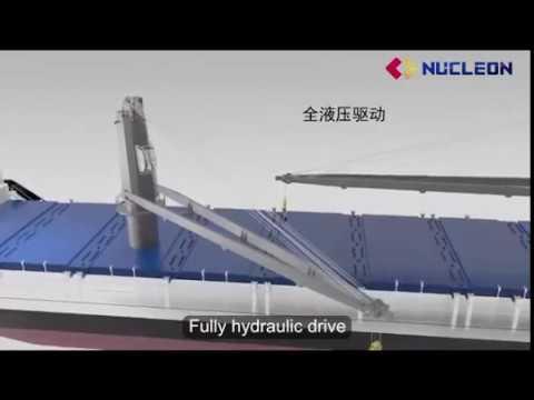 Wire Luffing Ship Crane