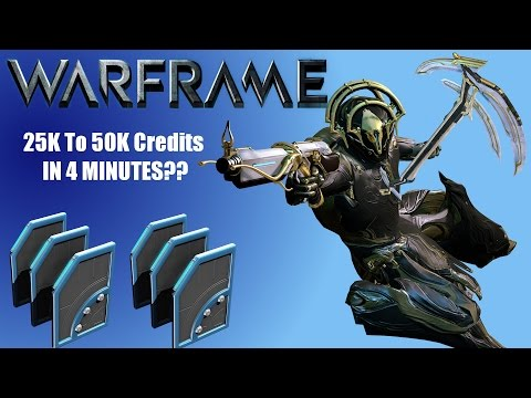 warframe how to get credits fast