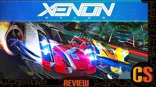 XENON RACER - PS4 REVIEW (Video Game Video Review)