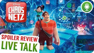 Chaos im Netz: Ralph Reicht's 2 - Spoiler Talk   LIVE TALK