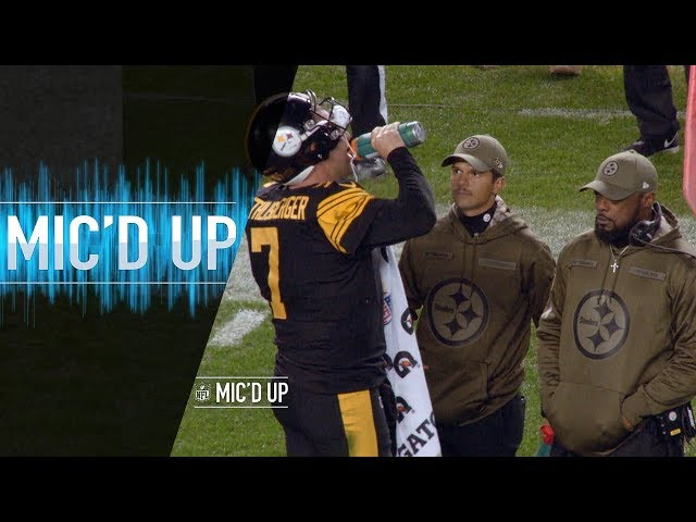 Big Ben & Mike Tomlin Micd Up vs. Panthers Can I get a hug? | NFL Films