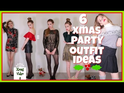 6 Christmas Party Outfit Ideas