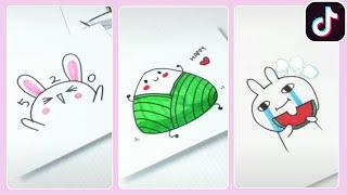 Học Vẽ Những Thứ Đơn Giản Nhưng Cực Kỳ Cute P1 ❤️ Tik Tok Trung Quốc 🇨🇳